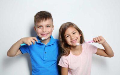 La higiene bucodental en los niños